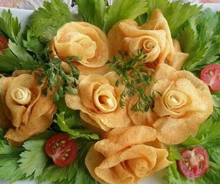 How To Make Potato Roses (13 pics)