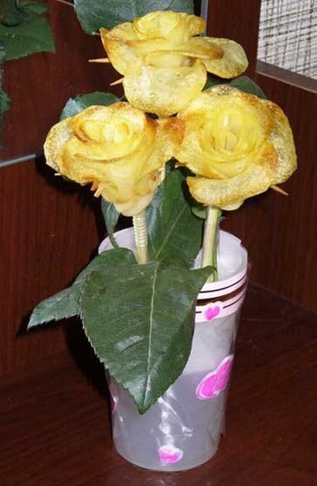 How To Make Potato Roses (13 pics)