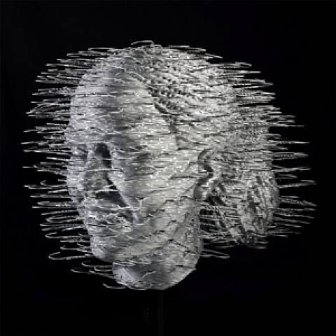Sculptures Made Of Coathangers (8 pics)