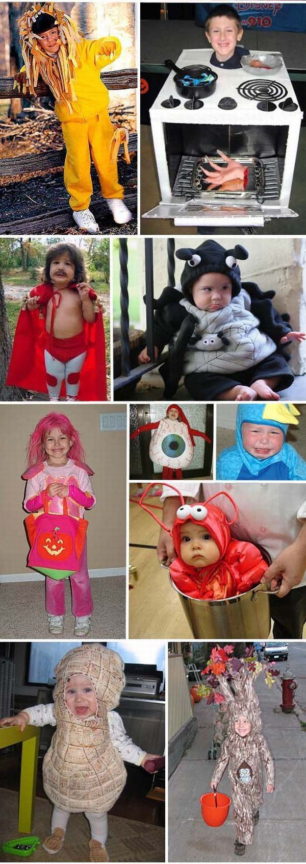 Halloween costumes handmade by parents (25 pics)