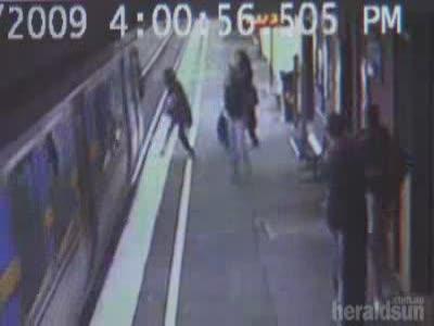 Baby In Pram Hit By Train Survives Uninjured
