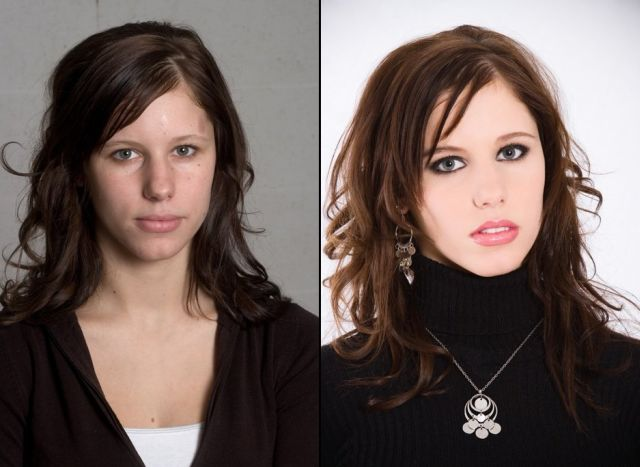 Before And After Makeup (21 pics)