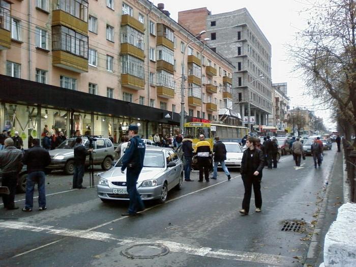 Bus Crash In Russian City Of Perm (28 pics)