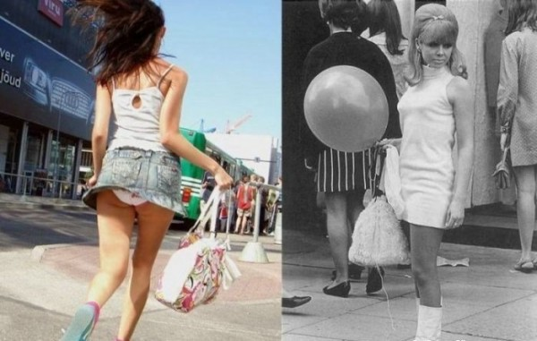 Skirts. Then And Now (19 pics)