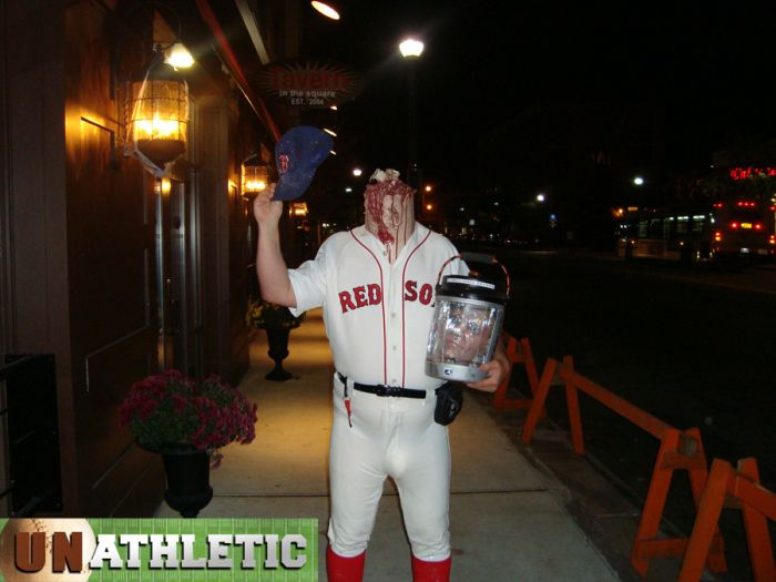 Ted Williams Became A Halloween Costume. (4 pics)