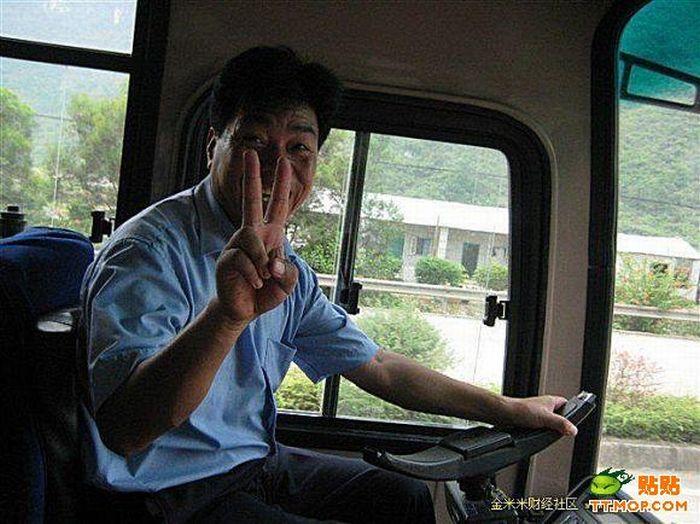 Crazy Bus Driver (6 pics)