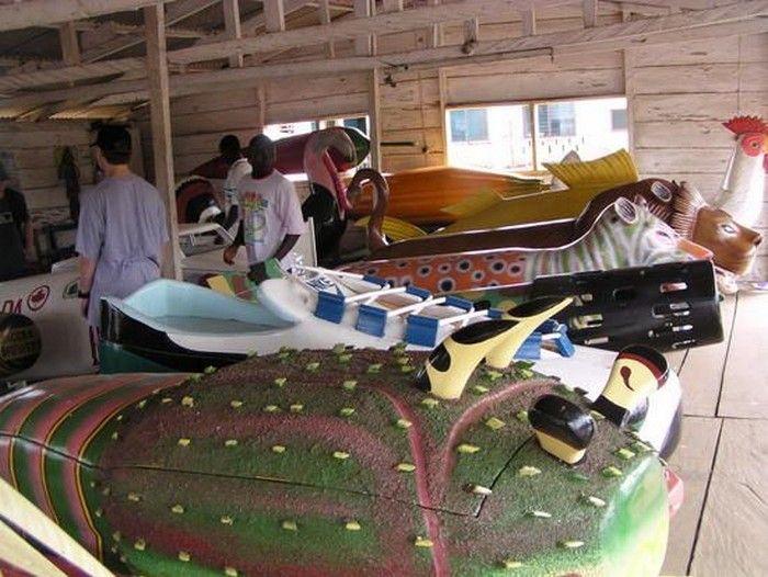 Coffins in Ghana (51 pics)