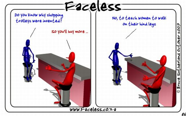 Faceless Comics (35 pics)