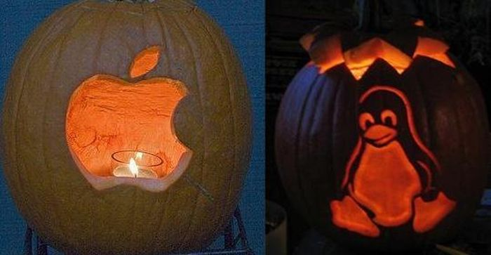 Pumpkin Carving For Geeks (10 pics)