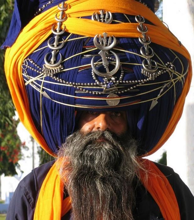 Sikh Turbans (14 pics)