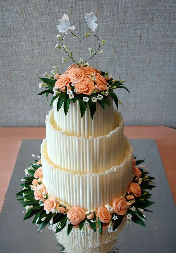 The Most Beautiful Wedding Cakes (35 pics)
