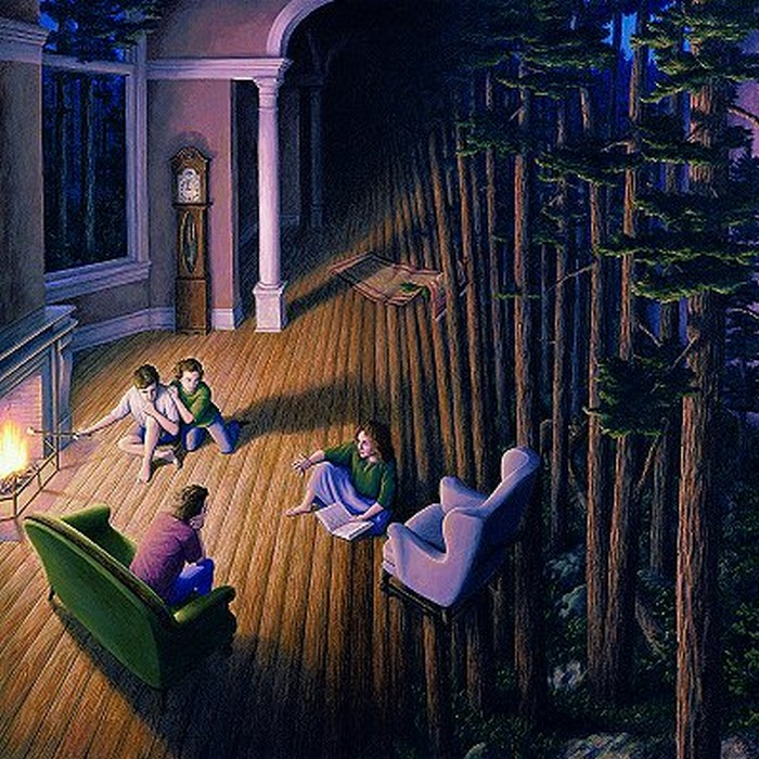 Amazing Illusion Paintings by Rob Gonsalves (47 pics)