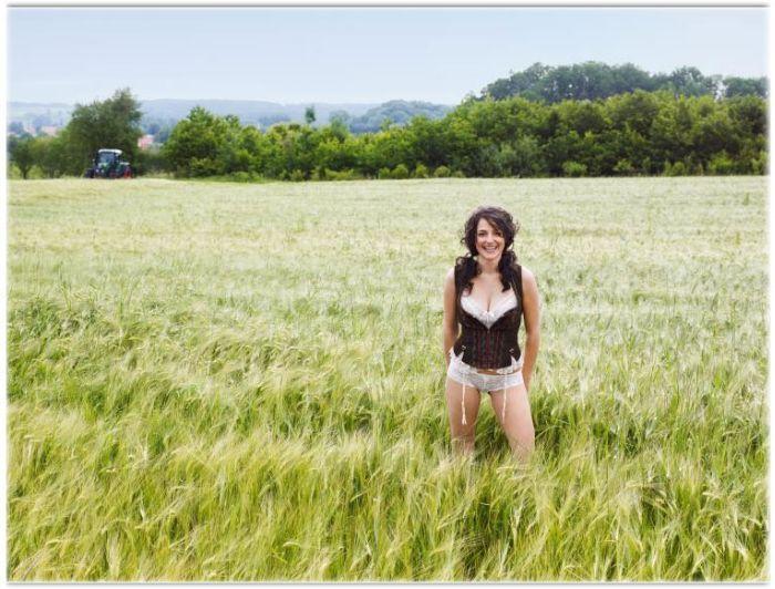 Sexy German Farm Girls Calendar (12 pics)