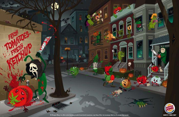 The Best Halloween Ads (45 pics)