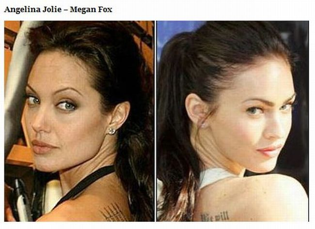 Celebrities  That Look Like Other Celebrities (10 pics)