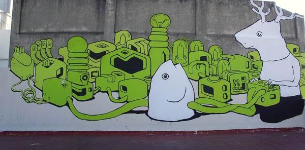 Great Graffiti Art (281 pics)