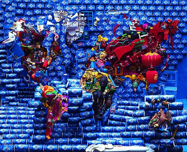 Amazing Trash Art by Bernard Pras (21 pics)
