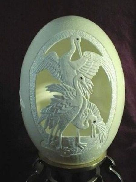 Amazing Egg Carving (27 pics)