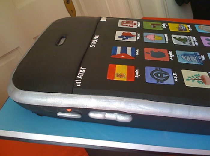 iPhone Wedding Cake (9 pics)