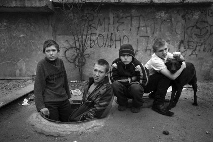 Children of the Streets in Ukraine (25 pics)