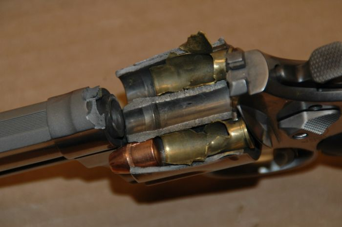 Damaged Gun (4 pics)