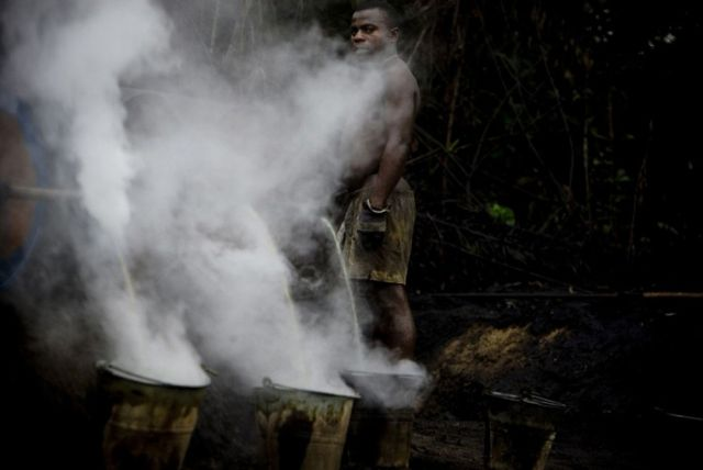 The Movement for the Emancipation of the Niger Delta (53 pics)