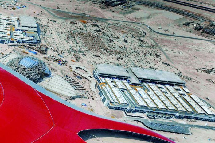 Ferrari World Abu Dhabi theme park (8 pics)