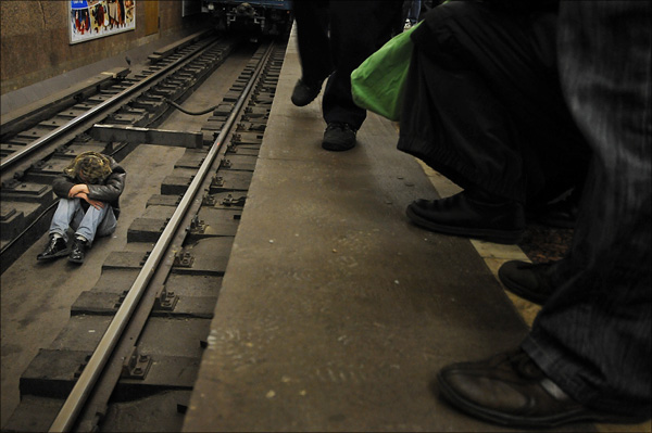 Suicide Attempt 02 Metrou