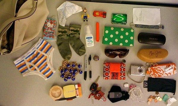 What Can Be Found in Women's Purse (14 pics)