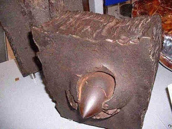 Damage Caused by Armor-Piercing Shells (13 pics)