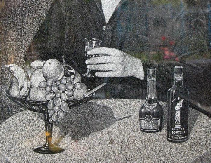 Russian Mafia Tombstones (9 pics)