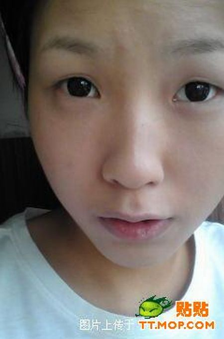 Chinese girl before and after makeup. Part 2 (16 pics)