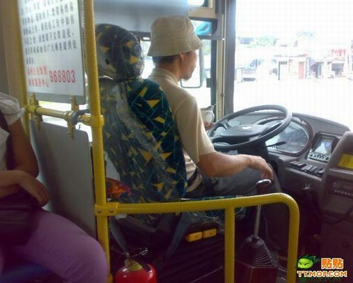 Crazy Chinese Bus Drivers (8 pics)