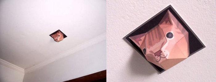 Ceiling Cat Papercraft (4 pics)