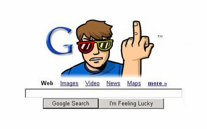 Google Logo Designer Is Having Marital Problems (5 pics)