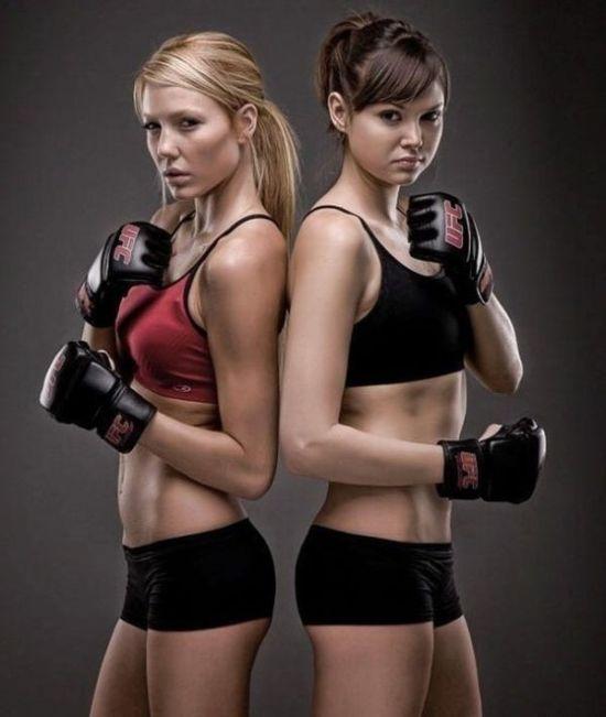 Mujeres Boxeadoras!