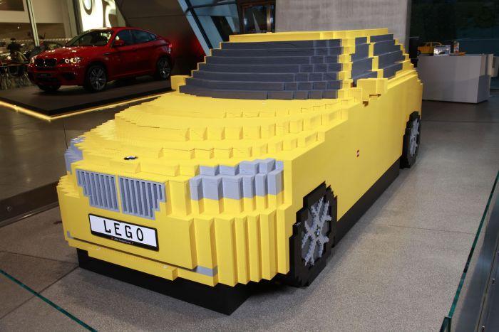 The full-scale LEGO replica of a BMW X1 (9 pics)