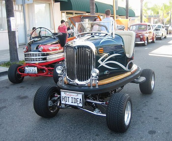 Bumper Cars Turned Into Real Cars (7 pics)