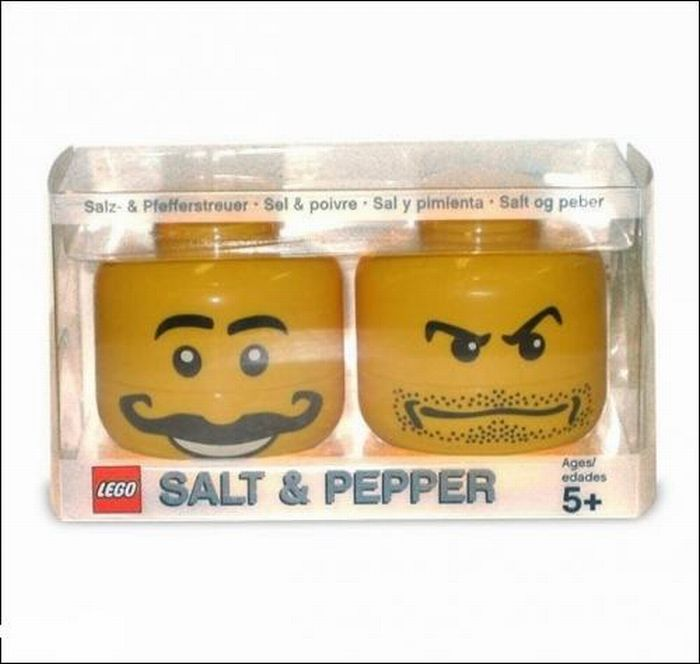 Creative salt and pepper cellars (20 pics)