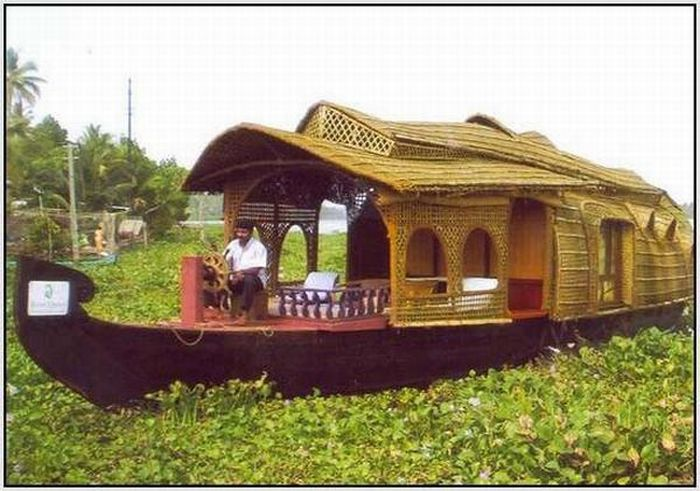Houseboats of India (21 pics)