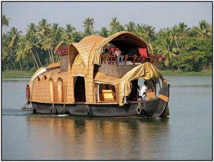 Houseboats of India (21 pics)