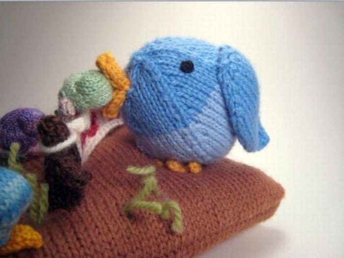 Knitted Tiny Stuff (58 pics)
