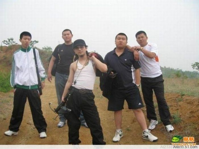 Chinese Gangsters (28 pics)