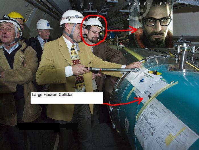 Gordon Freeman at CERN (23 pics)