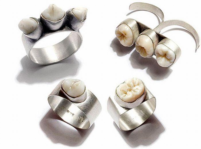 Teeth Jewelry (10 pics)