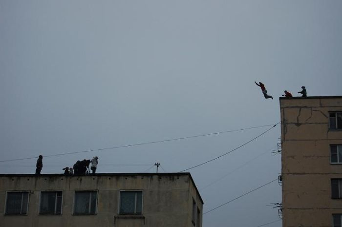 Crazy Russian Parkour (6 pics + 1 gif)