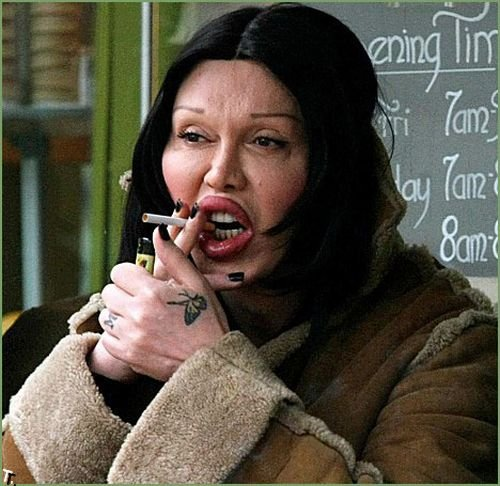 Transformation of Pete Burns (11 pics)