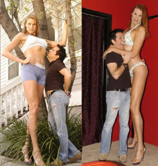 World's Tallest Model (12 pics)