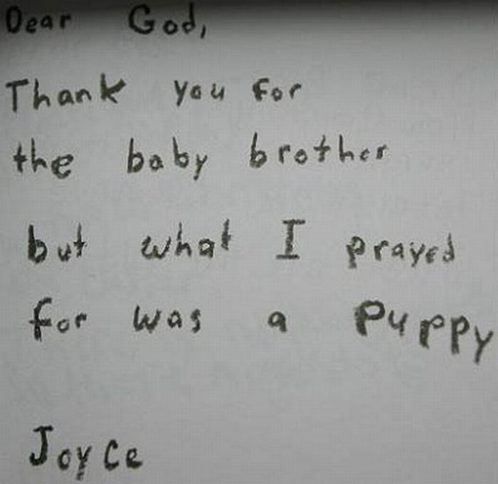 Funny Dear God Notes (16 pics)