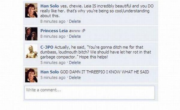 Star Wars Heroes on Facebook (5 pics)